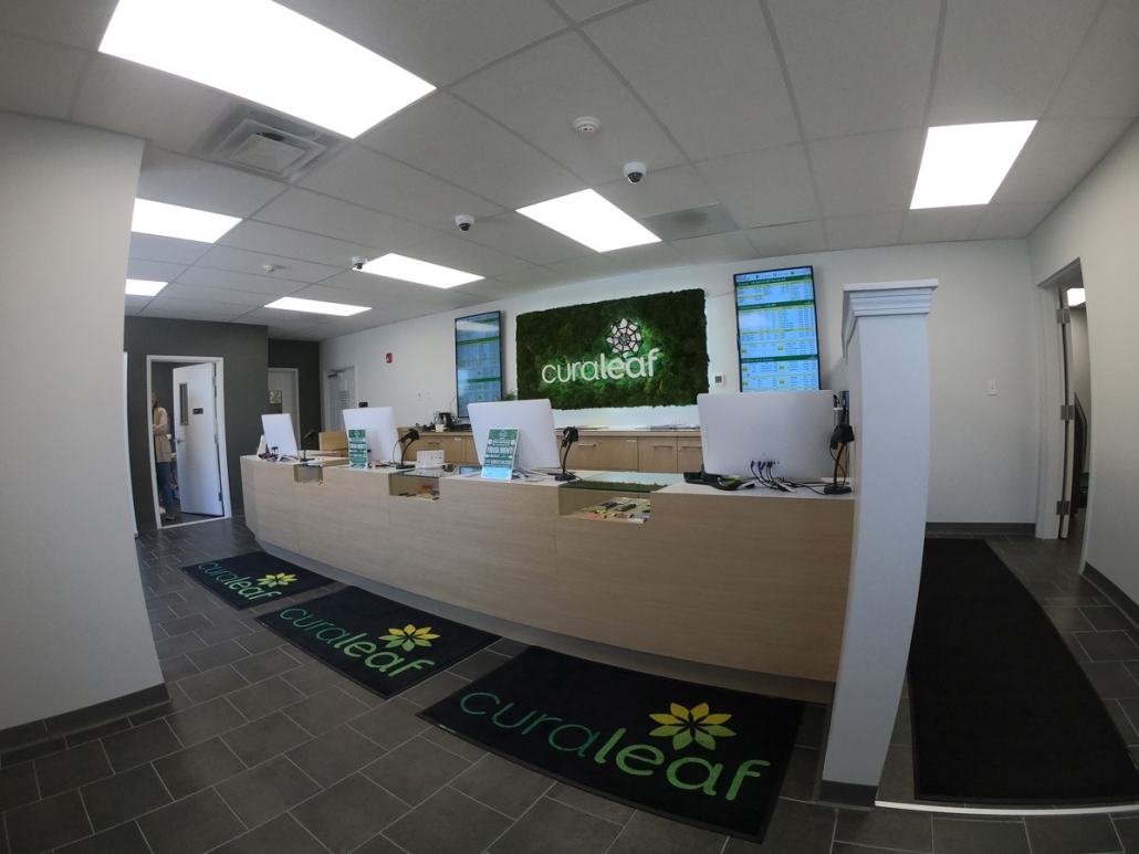 Curaleaf Cannabis Dispensary Registers