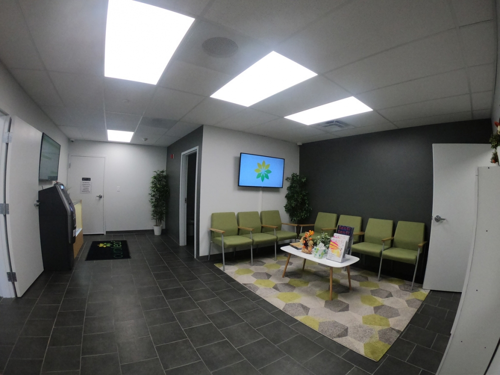 Curaleaf Cannabis Dispensary Waiting Room